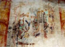 Affresco interno al Santuario