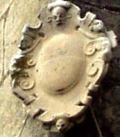 Stemma baronale in un palazzo di Burgio