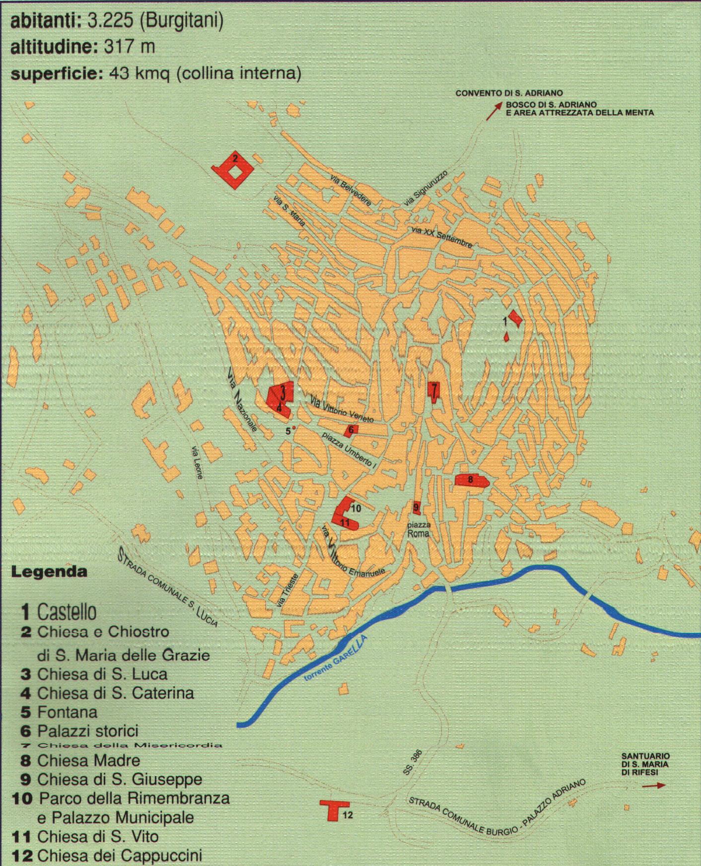 Cartina Comuni Sicilia